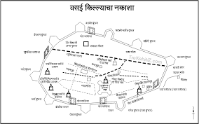 vasai map marathi
