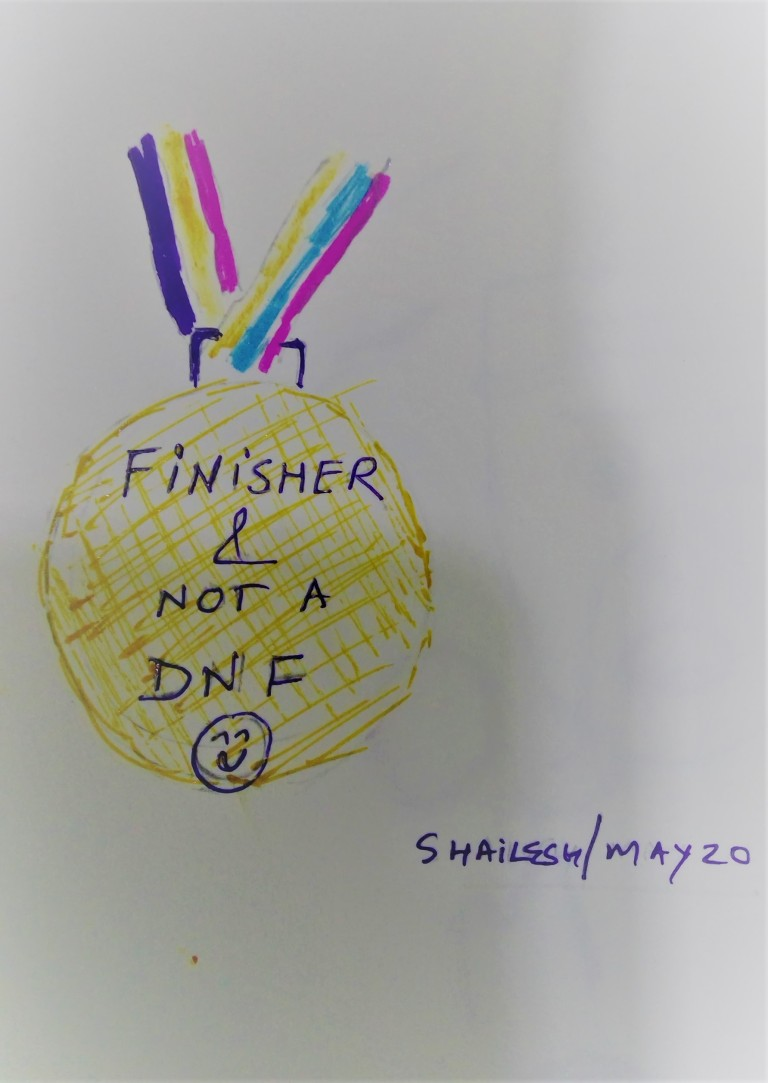 finsisher medal